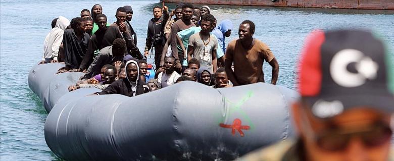 Libye migrants réfugiés