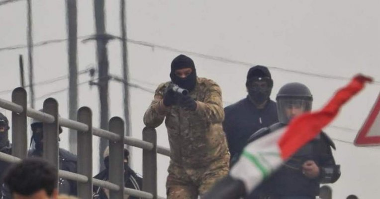 Irak, La violente répression par les forces de sécurité reprennent